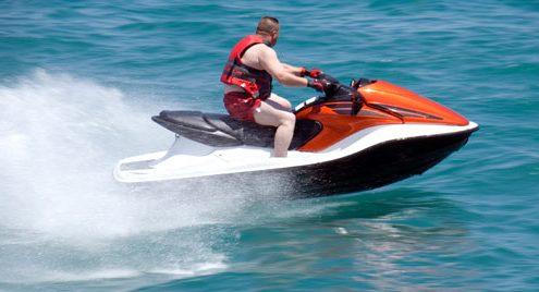 Moto acuática