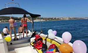 Alquiler de barcos para fiestas