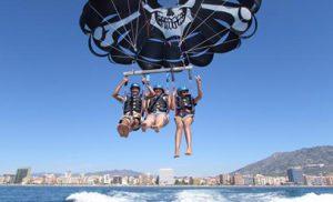 Alquiler parasailing en Málaga