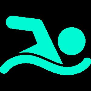 Icono persona nadando