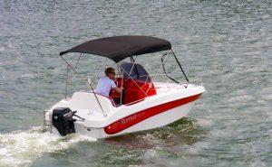 Alquiler barco sin titulacion Remus 440 15 cv
