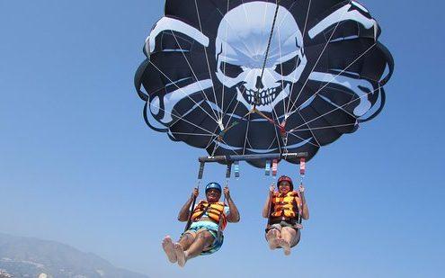 Alquiler parasailing